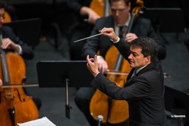 Le directeur artistique et chef attitré de l'OSTR,... (Photo: Olivier Croteau, Le Nouvelliste)