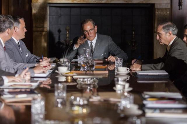 Woody Harrelson incarne l'ancien président américain Lyndon B.... (Photo fournie par Warner Bros.)