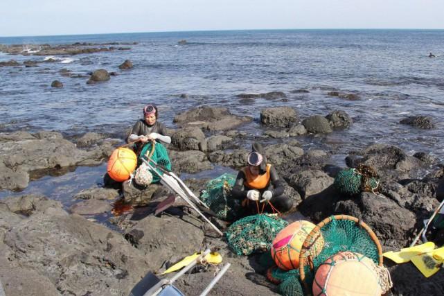 L'île de Jejucomptait 14 000 pêcheuses dans les... (PHOTO ISABELLE DUCAS, LA PRESSE)
