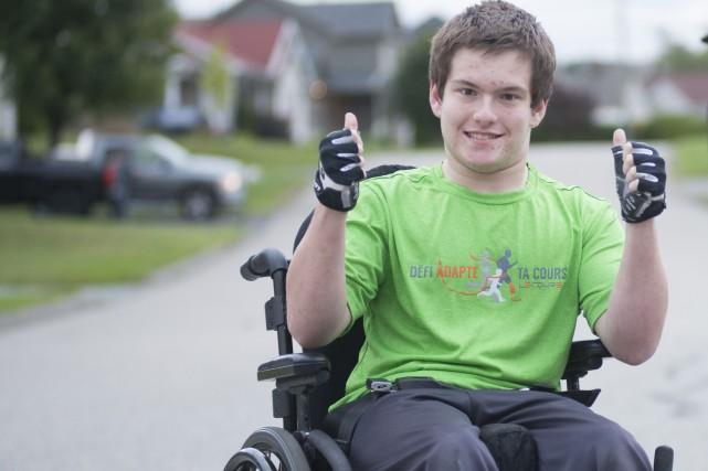 Samuel Drouin, 16 ans, est un des quatre... (Spectre Média, Julien Chamberland)