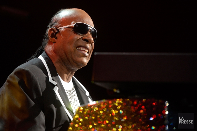 Stevie Wonder... (PHOTO BERNARD BRAULT, ARCHIVES LA PRESSE)