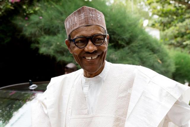 Le président du Nigeria, Muhammadu Buhari.... (Photo REUTERS)