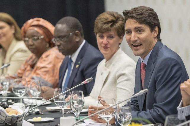 Le premier ministre Justin Trudeau est l'hôte de... (Photo Ryan Remiorz, La Presse Canadienne)