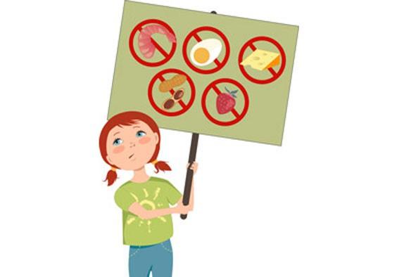 Les allergies alimentaires sont nombreuses et il faut aussi en tenir compte...