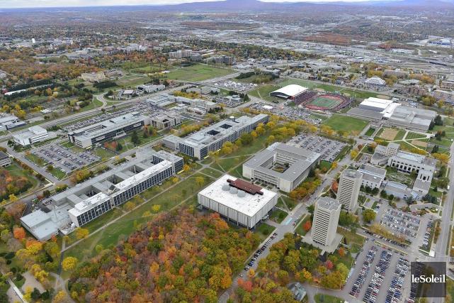 Le campus de l'Université Laval... (Photothèque Le Soleil)