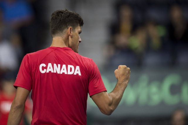 Dancevic occupe le 236e rang mondial.... (La Presse Canadienne)