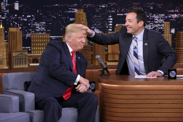 L'animateur du The Tonight Show Jimmy Fallon s'est... (AP)