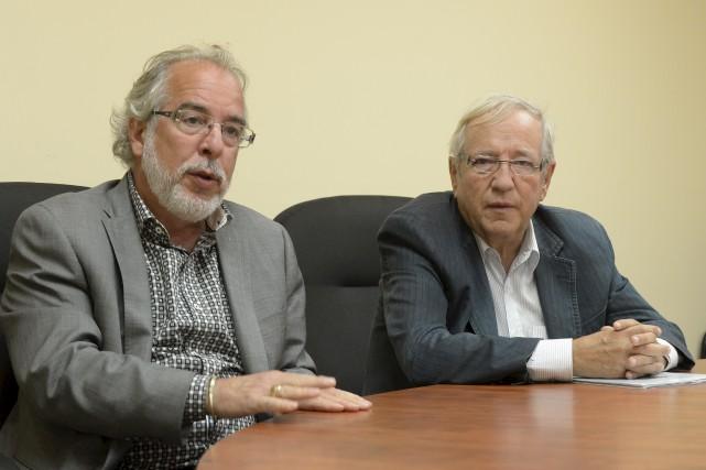 Le chef intérimaire du Bloc québécois, Rhéal Fortin,... (Sylvain Mayer)