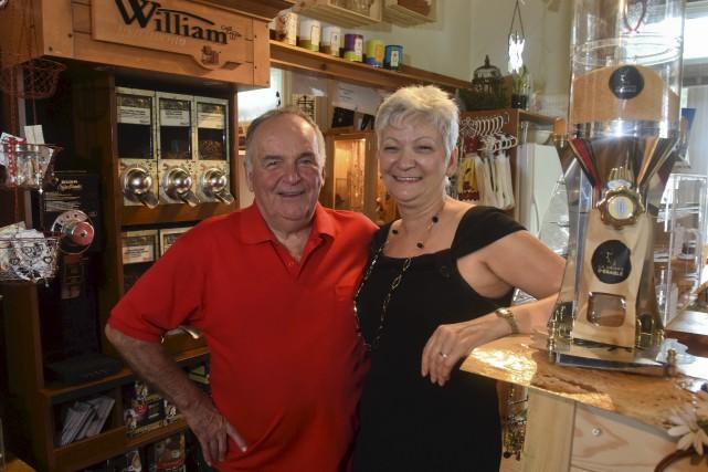 Robert Richard et Céline Beauregard, propriétaires.... (François Gervais)