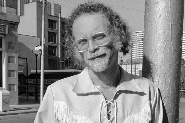 W.P. Kinsella, en 1986.... (Photo La Presse Canadienne)