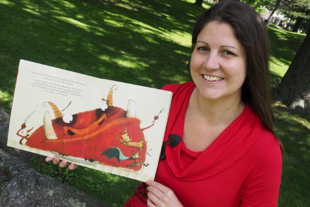 L'auteure Valérie Fontaine, qui donne rendez-vous aux enfants... (Collaboration spéciale, Alain Dion)