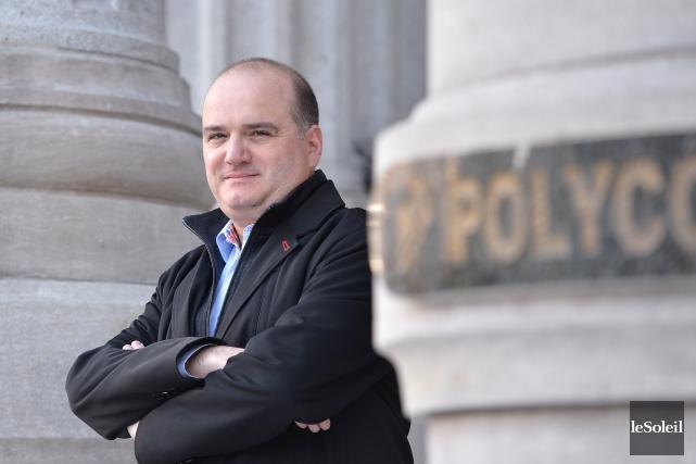Le président de Polycor, Patrick Perus.L'entreprise devient le... (Photothèque Le Soleil, Yan Doublet)