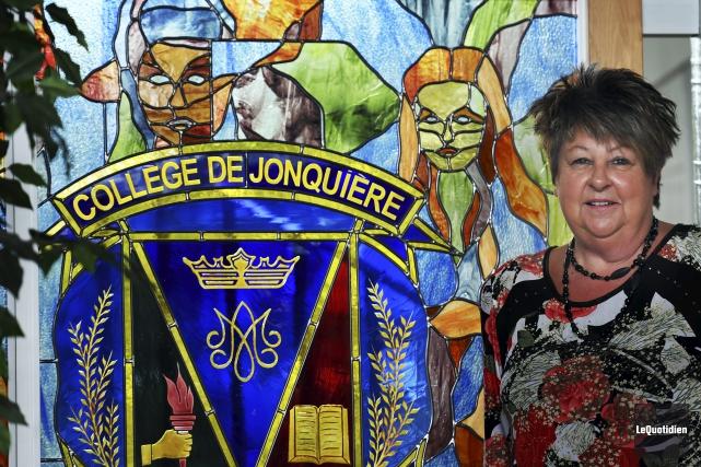La directrice générale du Cégep de Jonquière, Guylaine... (Photo Le Quotidien, Rocket Lavoie)