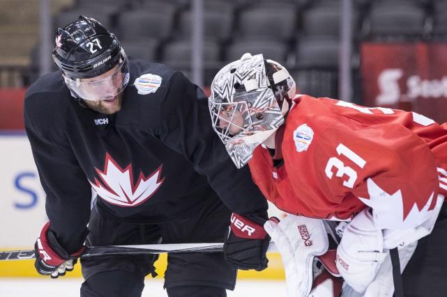 Avec des joueurs comme le défenseur Alex Pietrangelo... (La Presse canadienne, Chris Young)