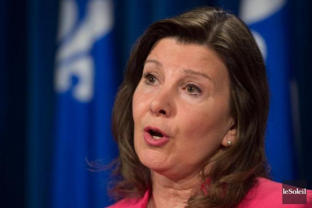 Diane Lamarre,porte-parole de l'opposition officielle en matière de... (Photothèque Le Soleil)