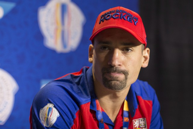 Tomas Plekanec, le capitaine de la République tchèque,... (La Presse canadienne, Chris Young)