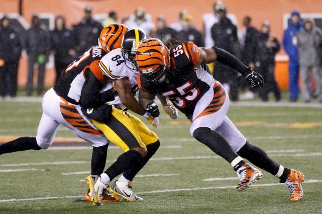 La déconfiture des Bengals face aux Steelers s'était... (Agence France-Presse)