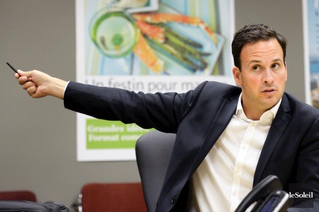 Jean-François Lisée a insinué vendredi qu'Alexandre Cloutier (photo)... (Phothothèque Le Soleil, Jean-Marie Villeneuve)