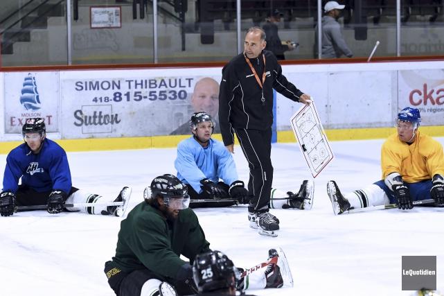 Richard Martel entamera sa première saison comme entraîneur... (Photo Le Quotidien, Rocket Lavoie)