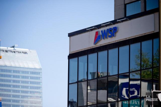 Le conseil d'administration de WSP a déclaré un... (Photo David Boily, Archives La Presse)
