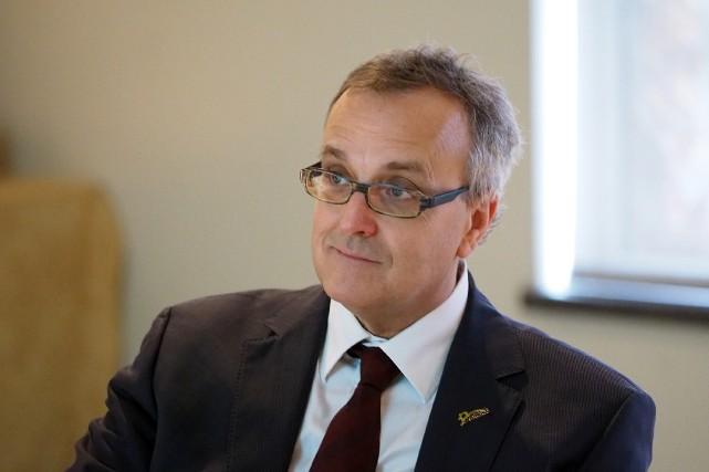 Jean Langevin était directeur général de la Ville...