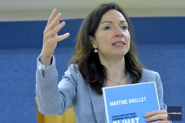 Martine Ouellet... (Archives, La Tribune)