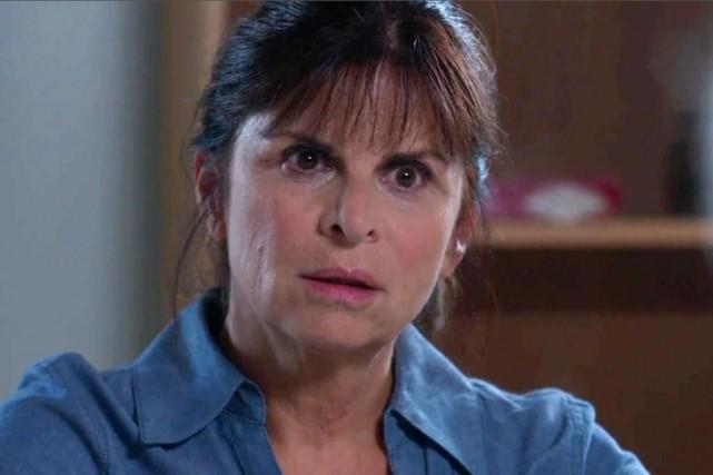 Marie Lamontagne (Guylaine Tremblay) dans Unité 9... (Photo fournie par Radio-Canada)
