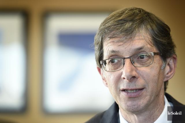 Gaétan Morin, président et chef de la direction... (Photothèque Le Soleil)