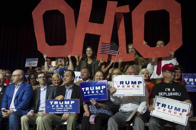 Les électeurs de l'Ohio ont voté du côté... (Archives AFP)