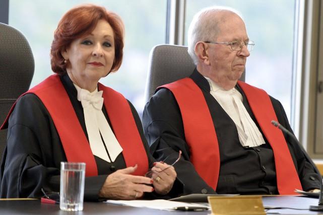 Texte: Élisabeth Corte (juge en chef de la... (Photo Le Progrès-Dimanche, Jeannot Lévesque)
