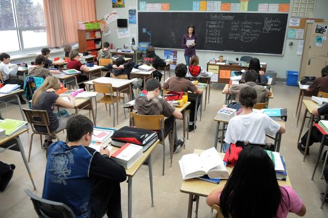 Cette année, et pour une première fois en cinq ans, l'École polyvalente Arvida... (Archives Le Progrès-Dimanche)