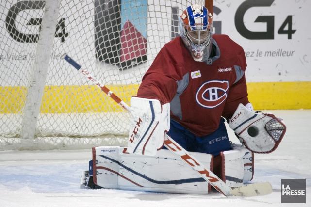 Fucale a défendu la cage montréalaise durant tout... (PHOTO OLIVIER JEAN, ARCHIVES LA PRESSE)