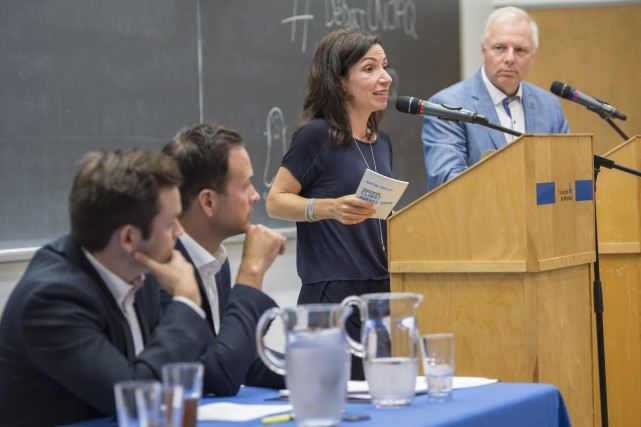 Paul Saint-Pierre Plamondon, Alexandre Cloutier, Martine Ouellet et... (Archives La Presse Canadienne)