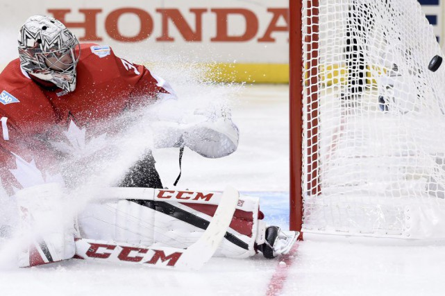 «Carey Price a tout un calme», a commenté... (PHOTO Nathan Denette, PC)