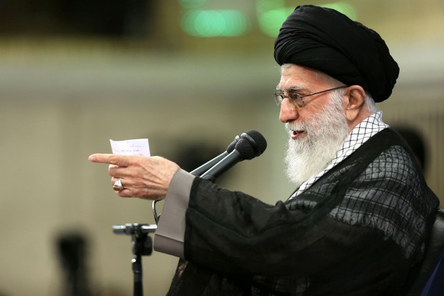 Ali Khamenei... (Photo Agence France-Presse)