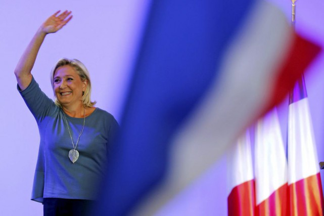 Marine Le Pen... (Photo Jean-Paul Pelissier, Reuters)