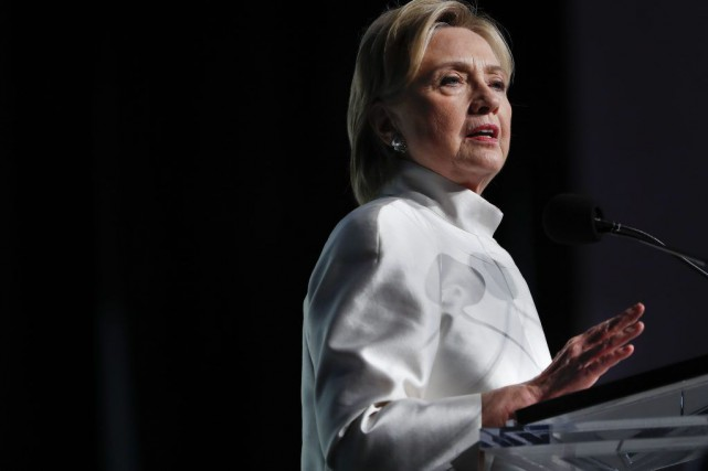 Hillary Clinton... (Photo Pablo Martinez Monsivais, archives Associated Press)