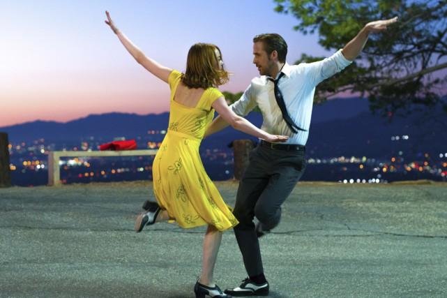 Emma Stone et Ryan Gosling sont les vedettes... (La Presse canadienne)