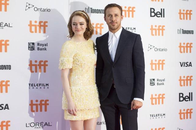 Les deux acteurs principaux de La La Land,... (La Presse canadienne, Chris Young)