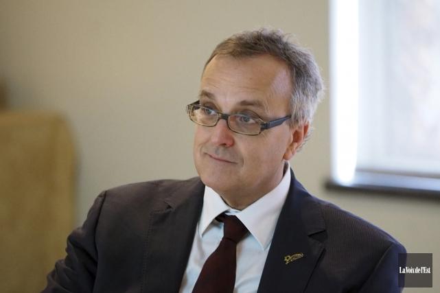 Le directeur général de Bromont, Jean Langevin, a... (archives La Voix de l'Est)