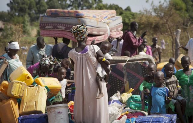 Plus d'un million de Soudanais du Sud ont... (AP, Rebecca Vassie)