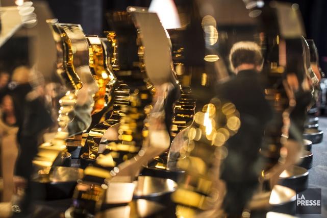 Tenu le 17 septembre, le 32e gala des Prix Gémeaux, qui récompense les artisans... (Archives La Presse)