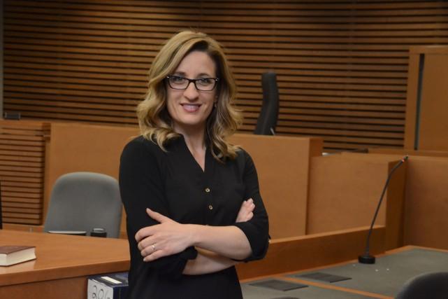 Marie-Christine Bergeron anime Histoires en cour... (Éric Beaupré)