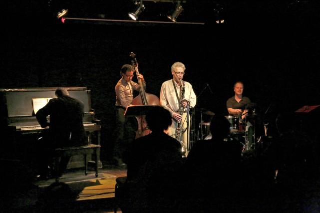 Le spectacle du Matthieu Bélanger Quartet... (Julie Catudal)