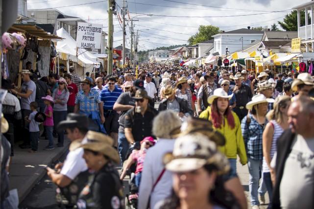 Les organisateurs du Festival western de Saint-Tite estiment... (Olivier Croteau)