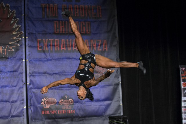 La Granbyenne Dominique Matthews lors d'une compétition antérieure.... (fournie)