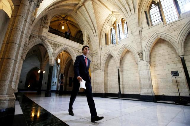 Le premier ministre du Canada, Justin Trudeau, au... (Chris Wattie, archives REUTERS)