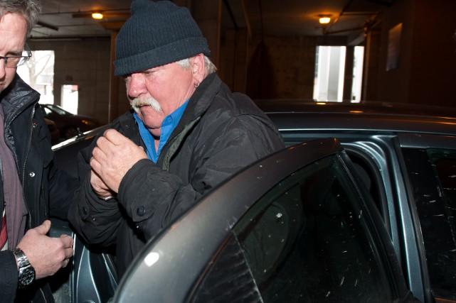 Renald Côté avait été arrêté en janvier dernier.... (Archives La Tribune, Jessica Garneau)