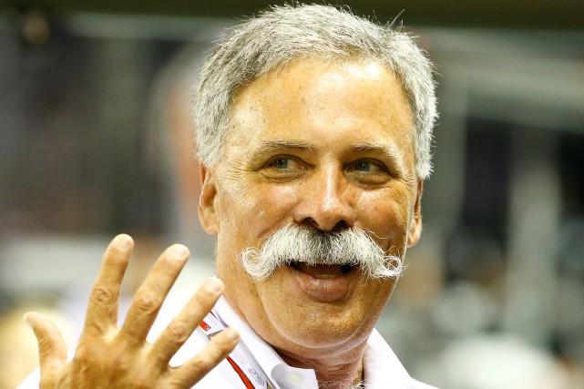 Le nouveau patron de la F1, Chase Carey,... (Photo REUTERS)