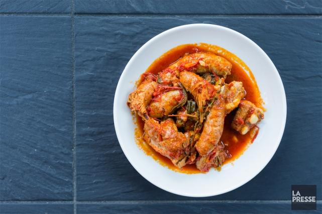 Une sauce à préparer avec la viande qu'on a sous la main, pour faire un costaud... (PHOTO ÉDOUARD PLANTE-FRÉCHETTE, LA PRESSE)
